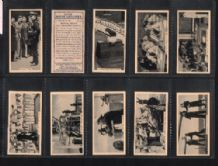 Tobacco Cigarette cards Life in the Services 1938